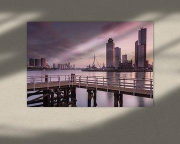 Sunrise in Rotterdam von Ilya Korzelius