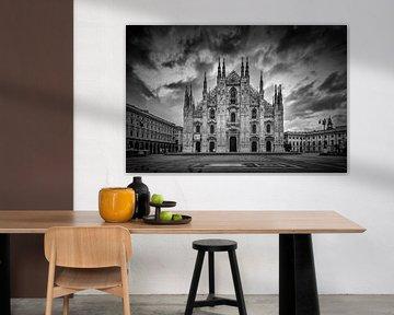 MAILÄNDER DOM Kathedrale Santa Maria Nascente | Monochrom