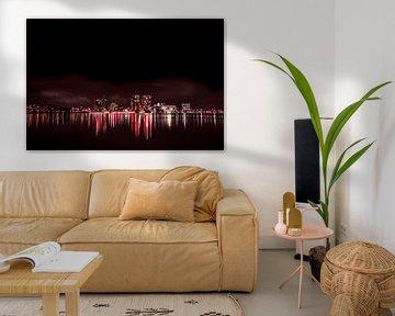 Skyline Almere van Frames by Frank