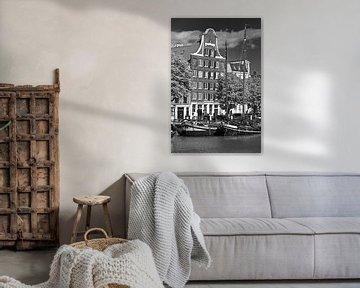 Canal Dordrecht schwarz / weiß