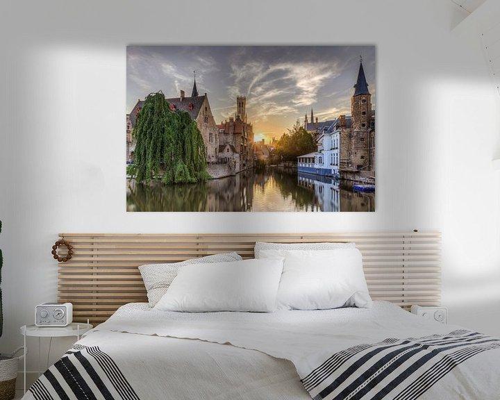 Sfeerimpressie: Brugge, Rozenhoedkaai van Fotografie Krist / Top Foto Vlaanderen