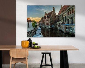 Brugge  Sint-Jans Hospitaal van Fotografie Krist / Top Foto Vlaanderen
