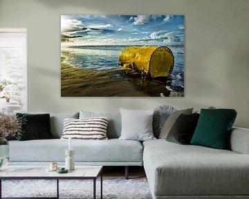 Vat op het Strand van Bart van Dam