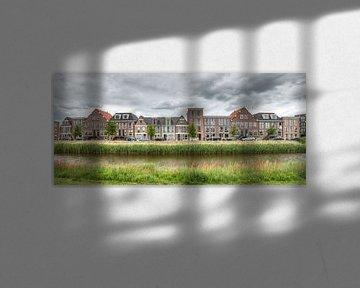 Panorama Weteringskade Amersfoort van Sieger Homan