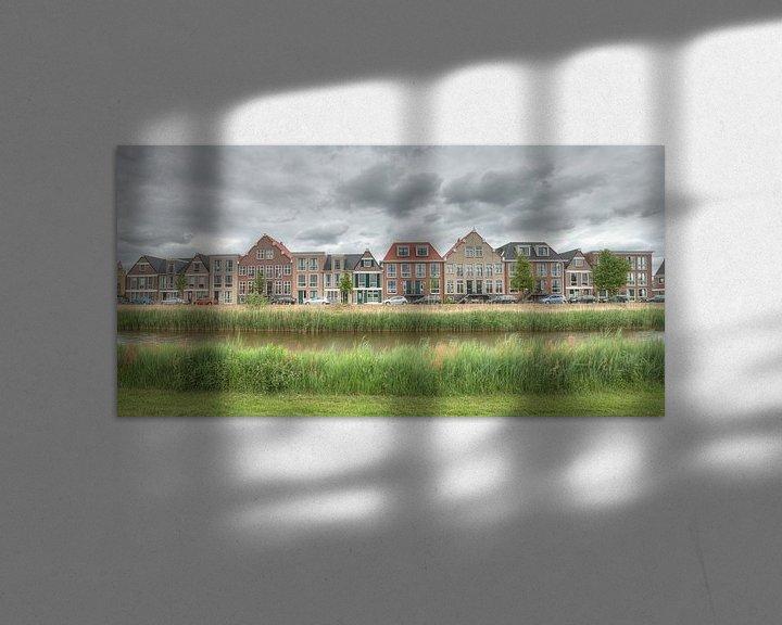 """Sfeerimpressie: Panorama """"Weteringskade"""" Amersfoort van Sieger Homan"""