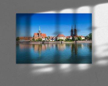 BRESLAU Kreuzkirche und Breslauer Dom, Dominsel von Melanie Viola