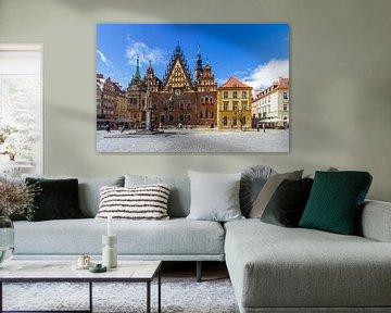 BRESLAU Großer Ring, Altes Rathaus  von Melanie Viola