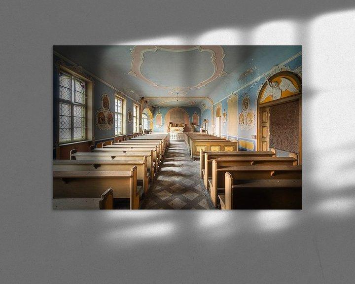 Sfeerimpressie: Mooie Verlaten Kapel. van Roman Robroek