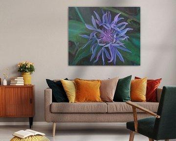 Blue flower von Anastasia Chernysheva