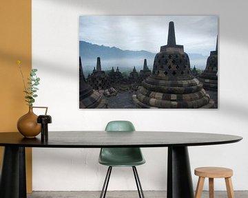 Borobudur  sur Irene Colen