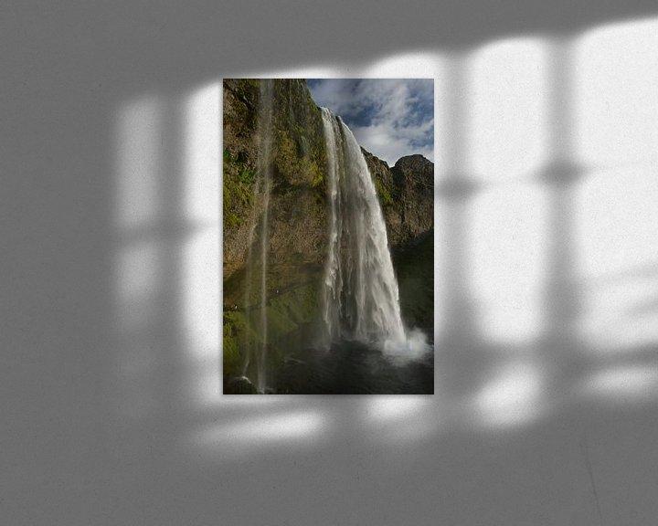 Sfeerimpressie: Seljalandsfoss, IJsland van Eddo Kloosterman