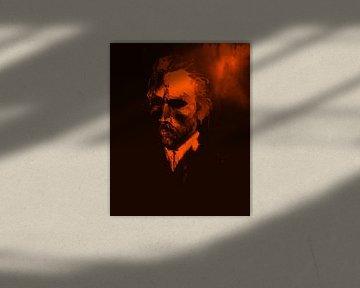 Vincent van Gogh Pop Art PUR Serie No.3 von Felix von Altersheim