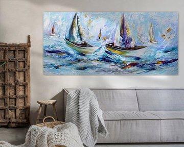 Abstract Sea van Gena Theheartofart