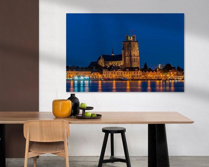 Sfeerimpressie: Zicht op Dordrecht van Bert Beckers