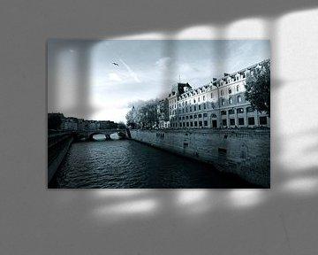 La Seine Paris van Jasper van de Gein Photography