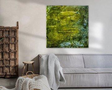Aus der Vogelperspektive - Der Wasserfall von Christine Nöhmeier