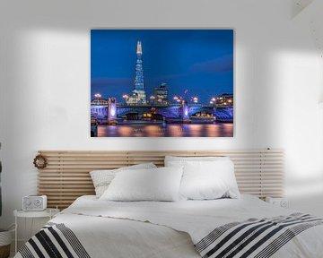 London blues | The Shard | Southwark Bridge