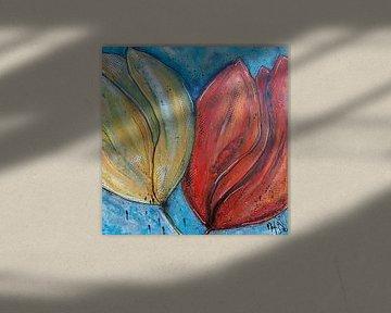 tulpen von Femke van der Tak (fem-paintings)