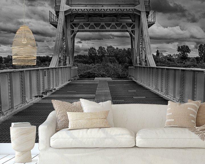 Sfeerimpressie behang: Pegasusbrug van René & Yvonne Claassen