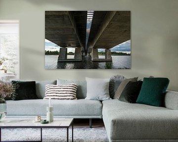 Stichtse brug A27 Almere  van Brian Morgan