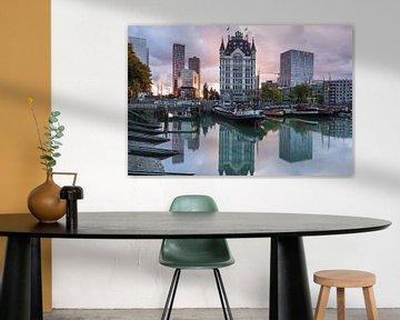 Zonsondergang Oude Haven Rotterdam
