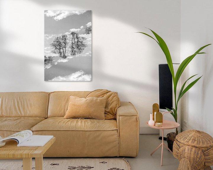 Impression: Mirror trees (1) sur Mark Scheper