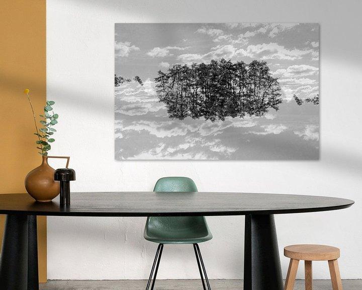 Impression: Mirror trees (3) sur Mark Scheper