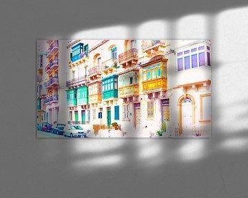 Malta, kleurrijk van Ina Hölzel