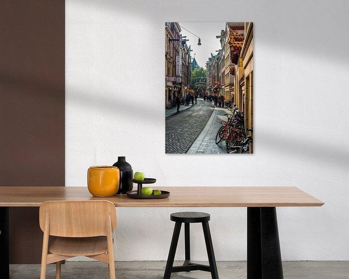 Sfeerimpressie: De Zeedijk en Chinatown in Amsterdam. van Don Fonzarelli