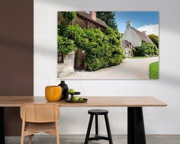 Typische Franse Boerderij uit de Loire van Fotografiecor .nl