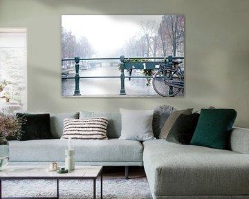 Amsterdamse grachten  von Studio LINKSHANDIG Amsterdam