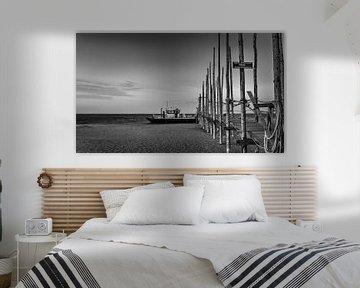 Waddenveer Texel-Vlieland van Alex Riemslag