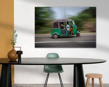 tuktuk van Rony Coevoet