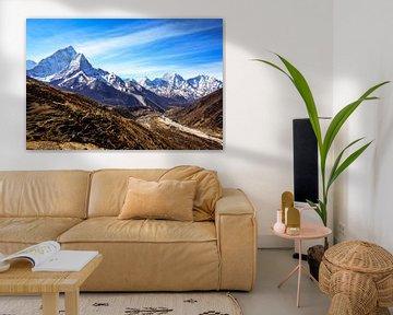 Gipfel des Himalaya von Joris de Bont