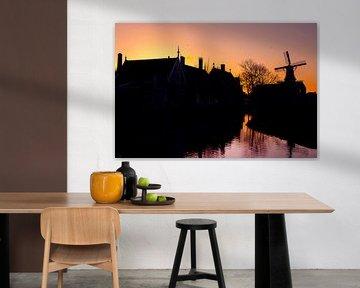 Zaanse Schans van Portrait of Holland
