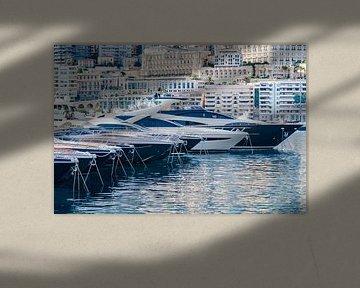 Haven van Monte Carlo in Monaco van Fotografiecor .nl