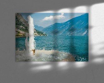Bergen bij Limone sul Garda aan het Gardameer van Fotografiecor .nl