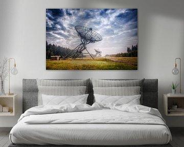 Astron Radio Telescoop bij Westerbork van Fotografiecor .nl