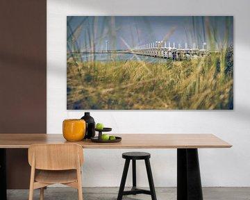Sturmflutwehr der Niederlande in Zeeland von Fotografiecor .nl