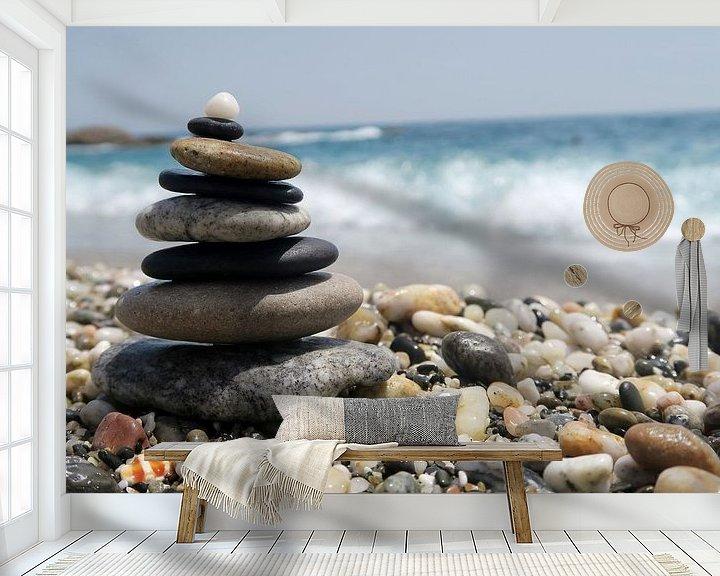 Impression: tower of rocks sur Nienke Stegeman