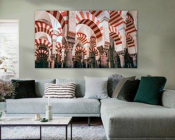 Moskee Spaanse stad Cordoba van Fotografiecor .nl