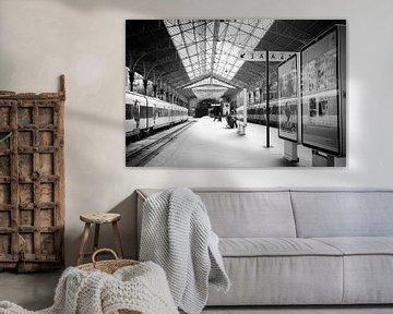 Treinstation in de stad Porto van Fotografiecor .nl