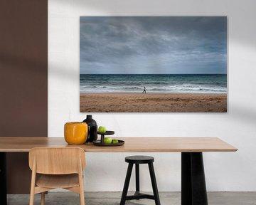 Loneliness at the Beach van Niels  de Vries