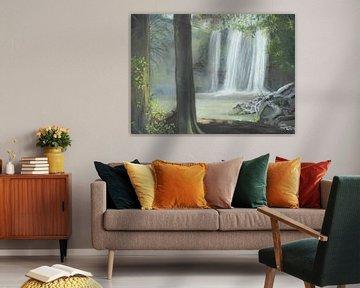 Waterval van Mandy Hogervorst