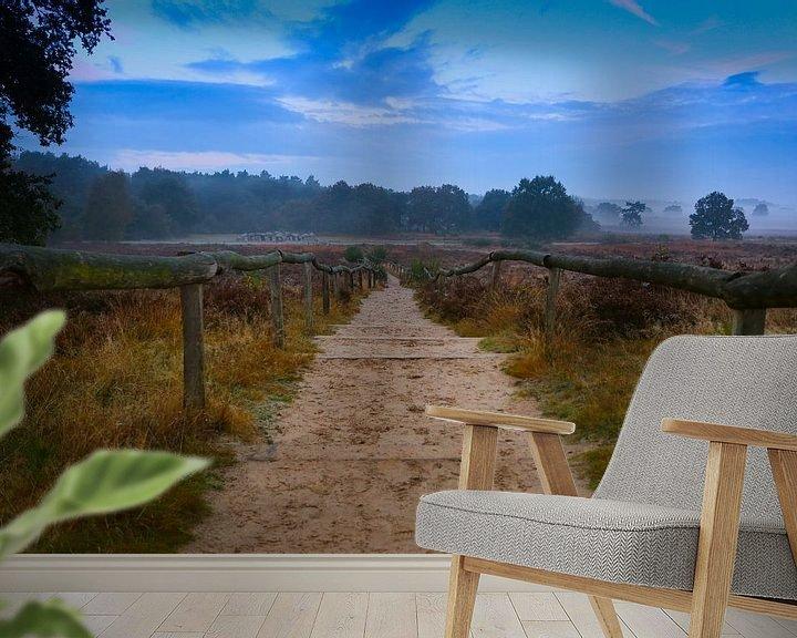 Beispiel fototapete: 'Dutch Stairway' von Jurjen Rozeboom
