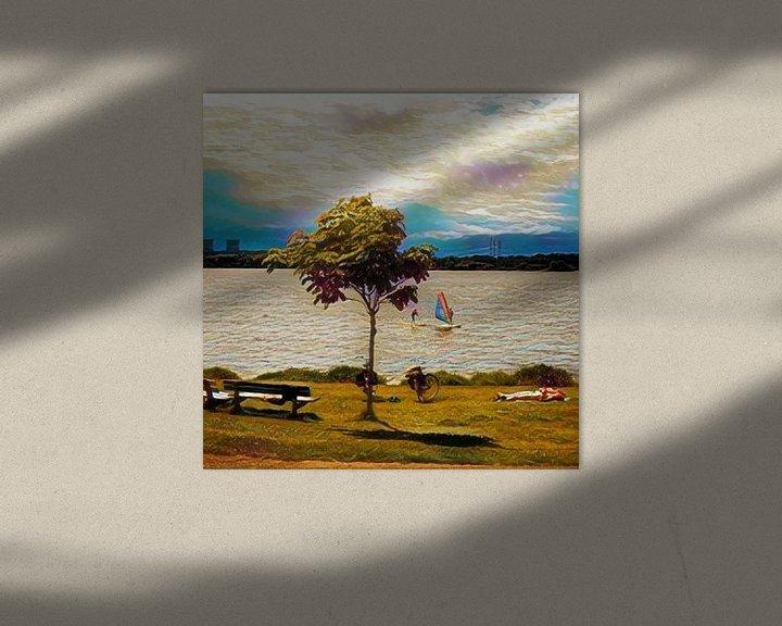Beispiel: On a sunny afternoon von L.J. Lammers