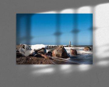 Die Ostseeküste im Winter von Rico Ködder