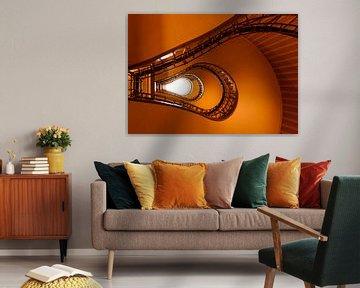 Light Bulb Staircase van Ronne Vinkx