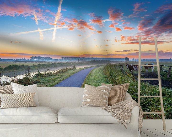 Sfeerimpressie behang: Moments before sunrise van Sander Peters Fotografie