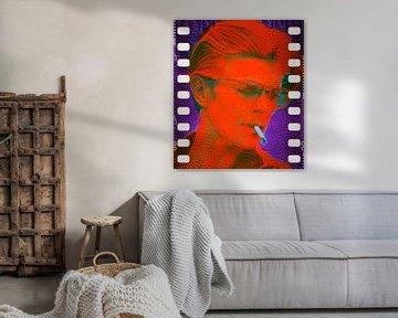 David Bowie Orange Pop Art PUR Serie von Felix von Altersheim